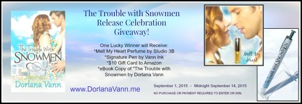 Giveaway Banner - Snowmen