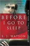 before i go to sleep book cover
