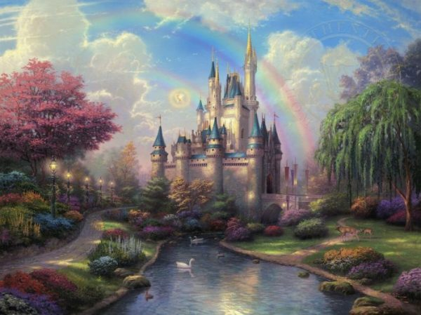 Cinderellas Castle by Thomas Kinkade